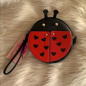 Betsey Johnson Bags - Luv Betsey/Betsey Johnson Ladybug Purse NWT